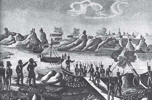 9 июня - Победа Дунайской флотилии у Бралов