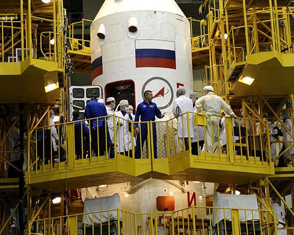 Русский экипаж наМКС планируется уменьшить с 3-х до 2-х космонавтов