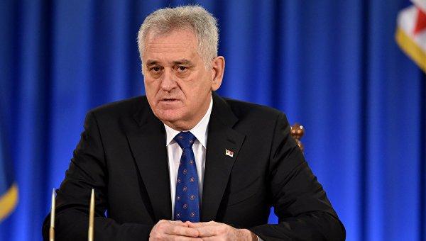 Николич: Сербия неможет ввести санкции против РФ