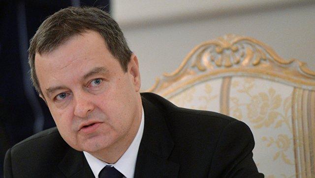 Санкции против Российской Федерации противоречат нашим интересам— руководитель МИД Сербии