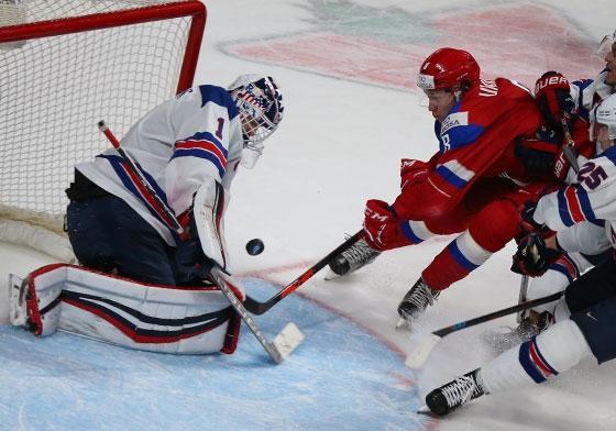 Сборная Российской Федерации выиграла бронзу наМЧМ похоккею