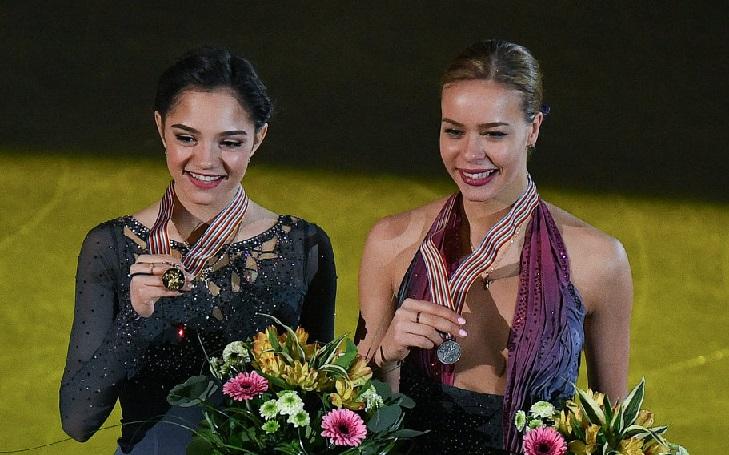 Русская фигуристка Медведева выиграла чемпионат Европы смировыми рекордами