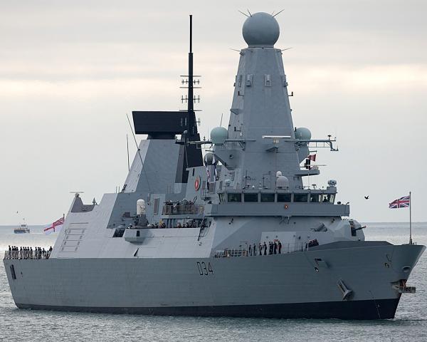 Впервый раз после холодной войны Великобритания отправит боевой корабль вЧерное море