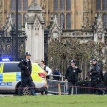 Теракт в Лондоне: у парламента стреляют, автомобиль врезался в толпу