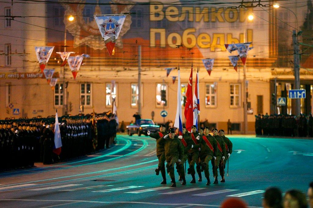 В столицеРФ из-за генеральной репетиции Парада Победы 3мая ограничат движение транспорта