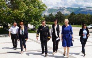 Вице-губернатор Краснодарского края посетила Государственный Морской Университет