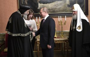 Владимир Путин встретился с главой Коптской церкви