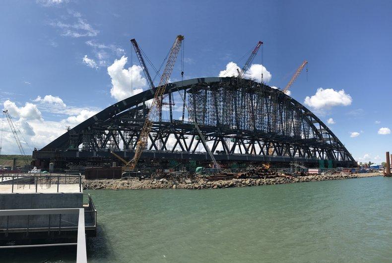 Украина требует от Российской Федерации 500 млн грн застроительство Крымского моста
