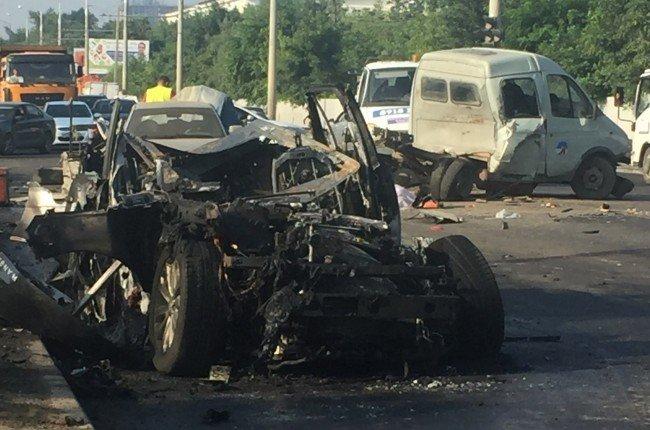 ВКраснодаре арестовали подростка, сбившего наRange Rover пятерых рабочих
