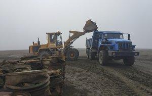Экологический взвод Северного флота собрал на острове Кильдин в Баренцевом море более 120 тонн лома