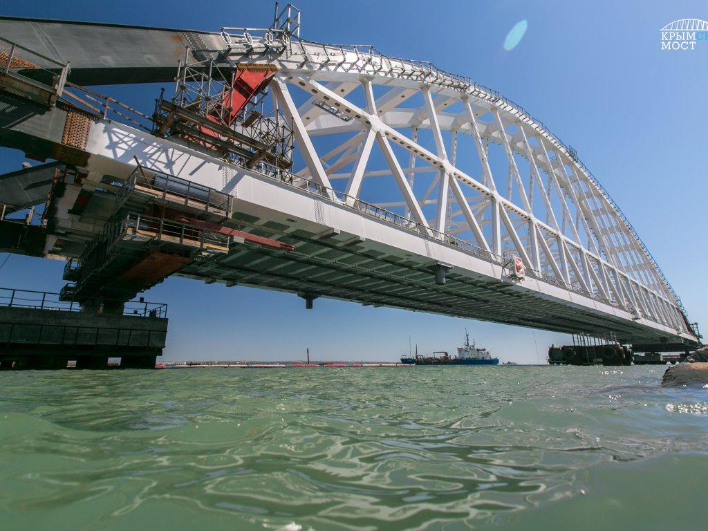 эстетичная входная крымский мост установка арки проведения пуско-наладочные