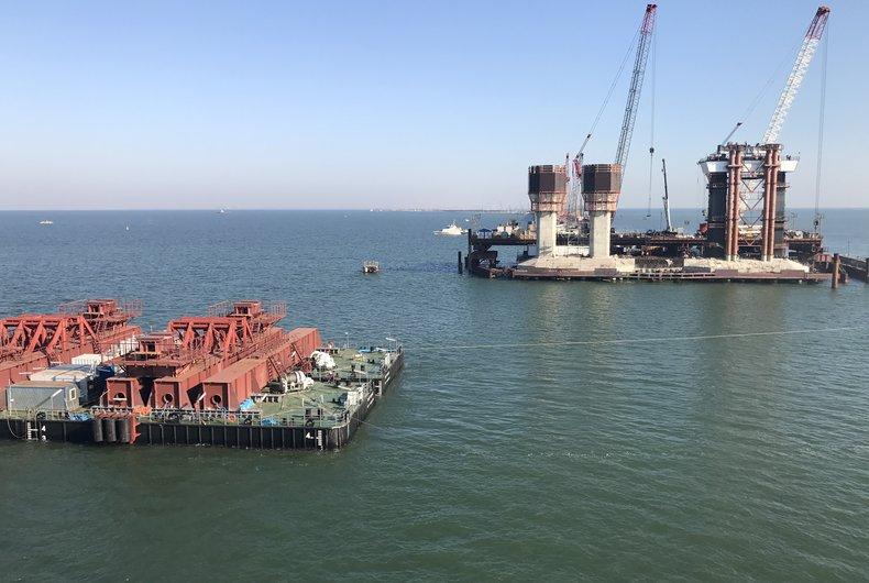 ВМИД отреагировали назапрет Россией морского судоходства через Керченский пролив