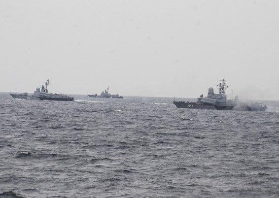 АвиацияЧФ вКрыму провела бомбометание
