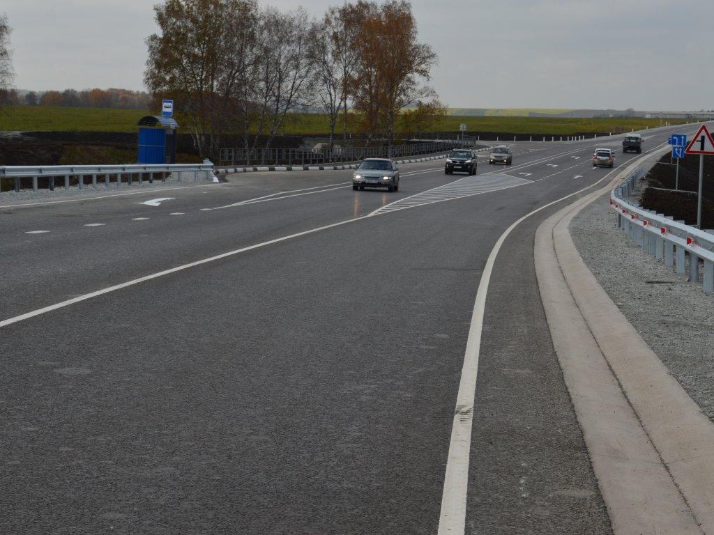 ВКемерово отремонтирован 18-километровый участок дороги «Сибирь» за560 млн руб.