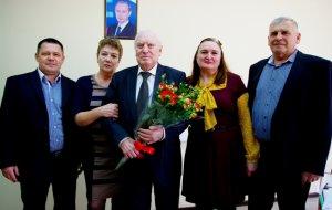 Поздравили заслуженного ветерана МВД РФ полковника милиции в отставке