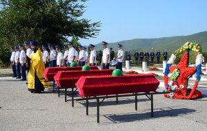 В Новороссийске провели 20-й ритуал перезахоронения погибших воинов