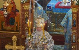 В Новороссийске Патриарх Кирилл провел праздничное богослужение