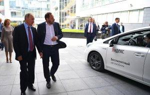Владимир Путин посетил «Яндекс»