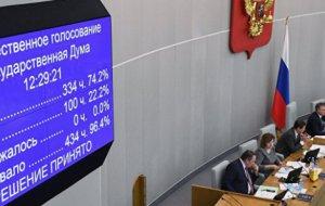 Владимир Синяговский: Госдума определила приоритеты развития государства на 2018 год