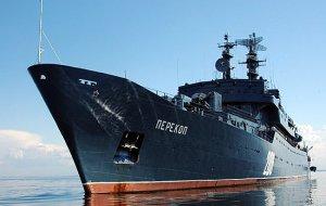 Учебный корабль «Перекоп» поразил воздушные мишени