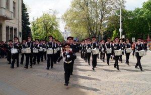 В Краснодаре прошел парад Кубанского казачьего войска
