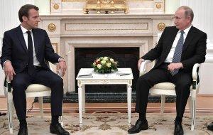 Встреча с Президентом Франции Эммануэлем Макроном