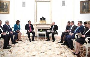 Встреча Президента России с Премьер-министром Венгрии Виктором Орбаном