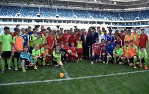 Посещение стадиона «Калининград»