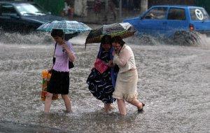 25 – 27 июля в Краснодарском крае ливень с грозой, градом, шквалистым усилением ветра 20-25 м/с.