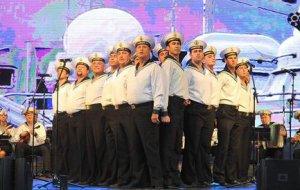 Военнослужащие Азербайджанской республики высоко оценили творчество Ансамбля Черноморского флота «Песни и пляски»