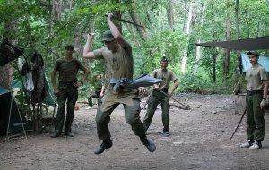 Военно-полевые сборы в горах под Геленджиком