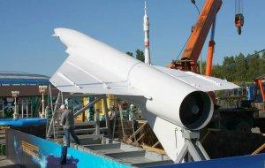 В Архипо-Осиповке (Геленджик) установили крылатую  ракету
