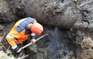 Проведение аварийных работ на водоводе