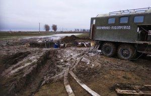 Крупная авария на сетях «Троицкого группового водопровода» устранена