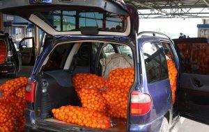 На российско-абхазской границе набирает обороты «мандариновый сезон»