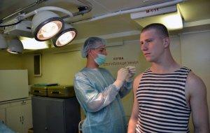 На Балтийском флоте приняты дополнительные меры по предупреждению заболеваемости военнослужащих