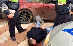 В Москве после многочасовой погони задержан сын вице-президента МТС