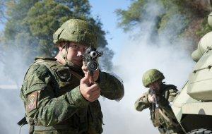 Разведывательные подразделения в Абхазии в ходе учения ликвидировали группу незаконного вооруженного формирования в горах