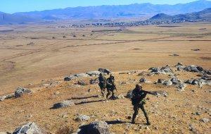 В Армении разведчики Южного военного округа  выполнили учебно-боевые задачи в ходе совместного двустороннего батальонного тактического учения  на полигоне Баграмян
