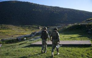 Военнослужащие  Южного военного округа организовали цифровую связь в горах в ходе учения в Абхазии