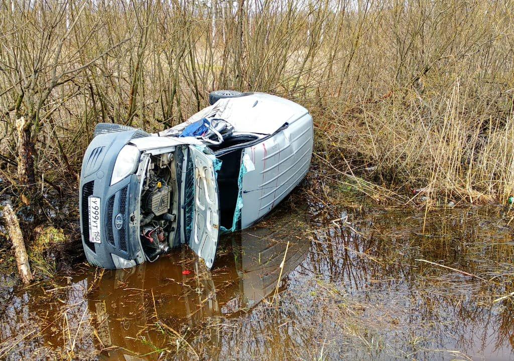 Дубненские спасатели оказали помощь пострадавшим в ДТП на Дмитровском шоссе