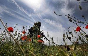 В мотострелковом соединении  прошло торжественное мероприятие, посвященное новому периоду обучения в Волгоградской области