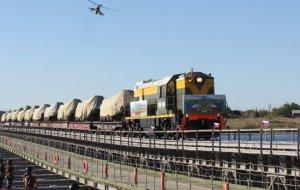 Военные железнодорожники  на Кубани восстановили разрушенное  железнодорожное полотно