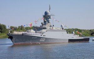 Корабли Каспийской флотилии вернулись в порты базирования после несения боевой службы
