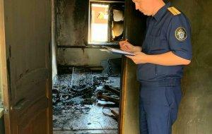 В Красноармейском районе следователи устанавливают обстоятельства пожара, в результате которого погибла пожилая женщина