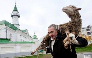 Поздравление мусульманам России с праздником Курбан-байрам