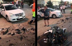 ГУ МВД: под Анапой погиб мотоциклист, которому не уступили дорогу