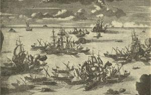 Президентская библиотека – к 300-летию победы российского флота при Гренгаме