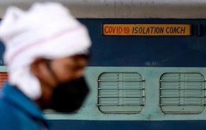В Индии семь человек погибли при пожаре в госпитале для зараженных коронавирусом