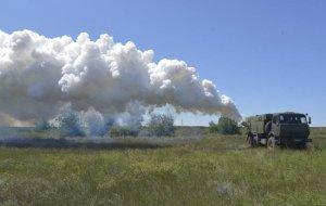 Аэрозольную маскировку батальонных тактических групп обеспечат войска химзащиты на спецучении